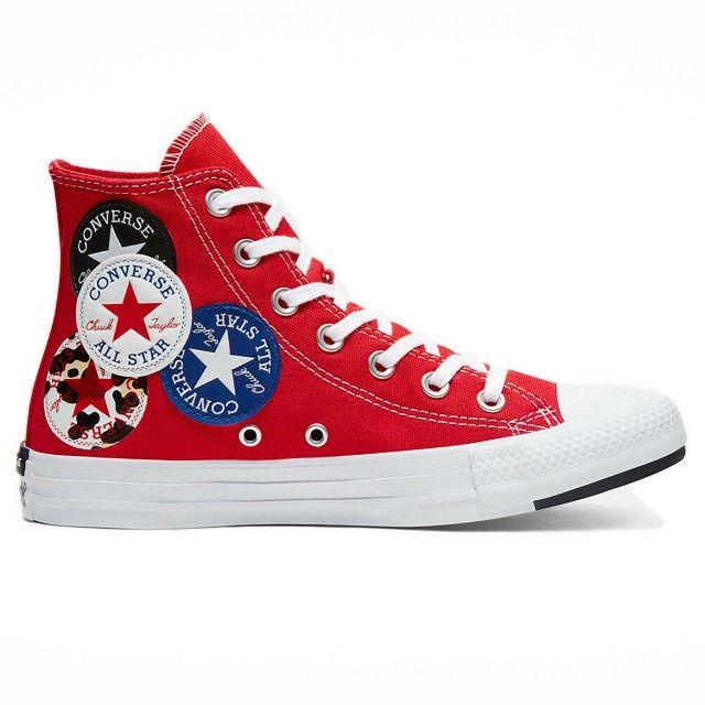 Converse All Star University Red Black