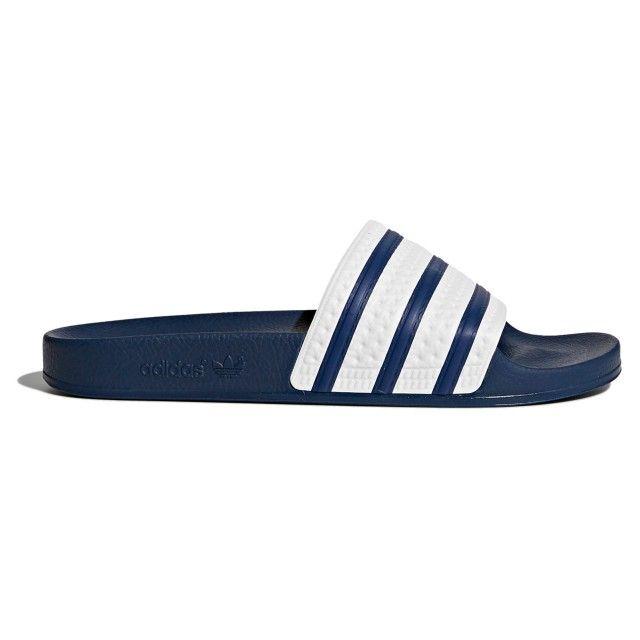 Chinelos Adidas Adilette Br/Azul