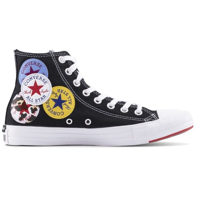 Converse All Star Hi Black University