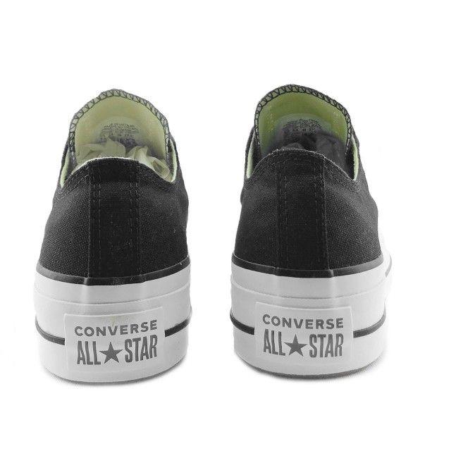 Converse All Star Lift Clean Black Garnet White
