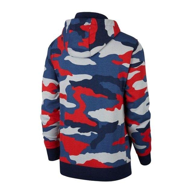Casaco Nike Full Zip Camo