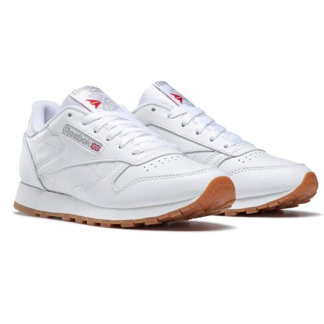 Classic Leather White Gum