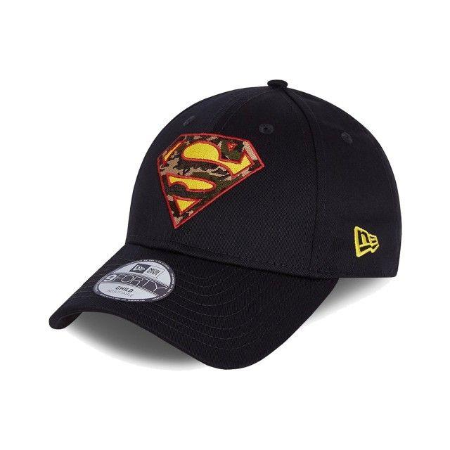 Boné New Era 9FORTY Super-Homem Logo Criança