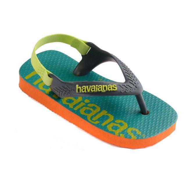 Sandálias Havaianas Logomania Bebé
