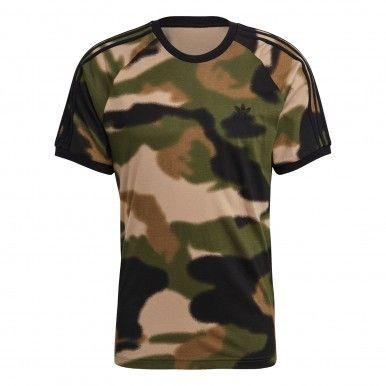 T-shirt Adidas Camuflado 3-Stripes