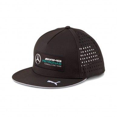Mercedes F1 Flat Brim Cap