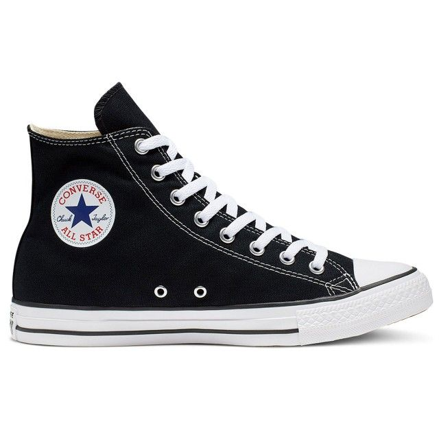 All Star Hi Black