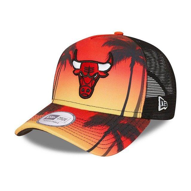 Boné New Era Chicago Bulls Summer City Trucker