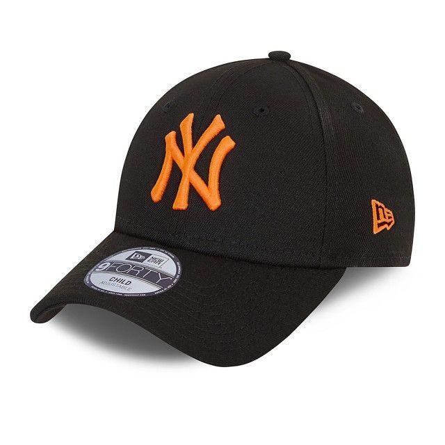 Boné New Era New York Yankees Neon 9FORTY Criança