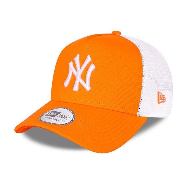Boné New York Yankees Orange A-Frame Trucker