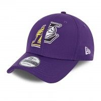 Boné New Era LA Lakers Half-Half 9FORTY