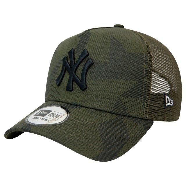 Boné New Era  New York Yankees Camo  A-Frame